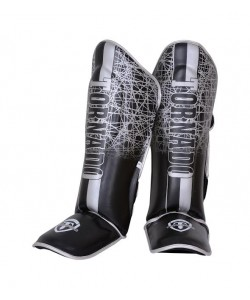 Tornado Art- Leather MMA Shin Guards Protector